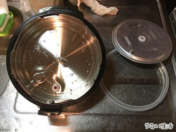 ショップジャパンの電気圧力鍋プレッシャーキングプロ