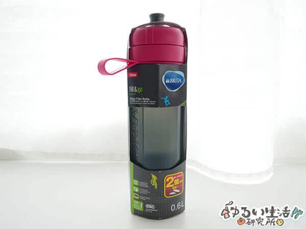ブリタのボトル型浄水器「Fill&Go Active」を使ってみた感想・レビュー